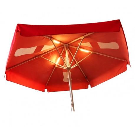 Oświetlenie LED dla parasola