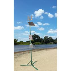 Mobilna Stacja Ładowania Smartfonów Zasilana Energią Słoneczną oraz siłą Wiatru