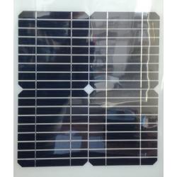 Półelastyczny panel fotowoltaiczny monokrytaliczny
